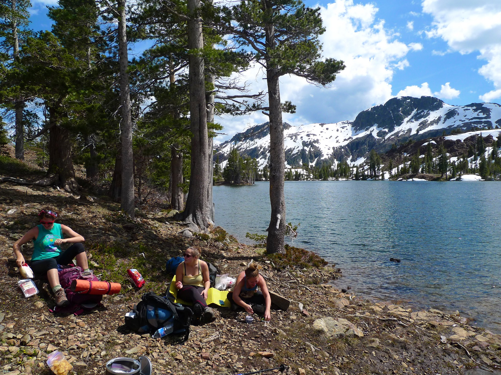 Lunch at Susie Lake