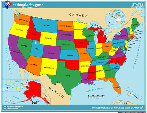 states(bright)