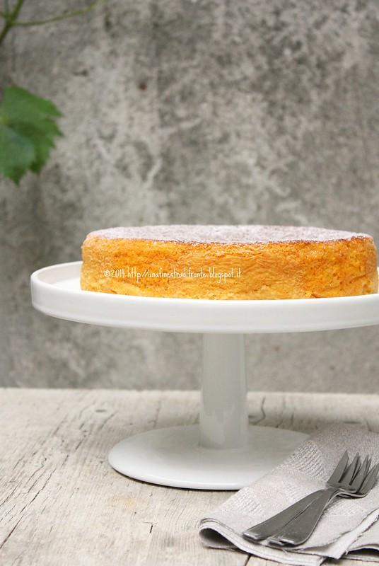 Torta di carote e mandorle (senza grassi)