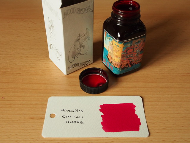 Noodler's Qin Shi Huang - Ink Review