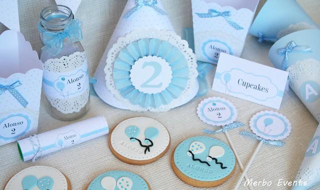 Kit imprimible decoración fiesta infantil Merbo events