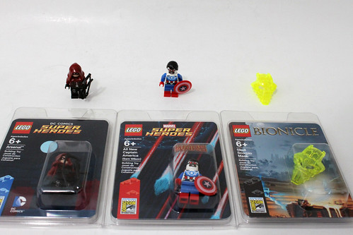 LEGO SDCC 2015 Exclusives Giveaway
