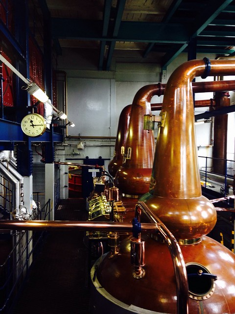 The Illicit stills @ Deanston
