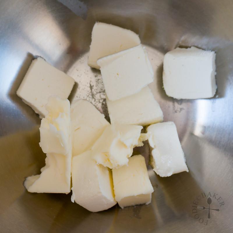 cream cheese + butter