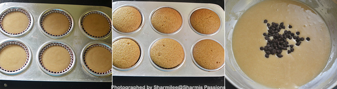 How to make Eggless Whole Wheat Vanilla Muffins Recipe - Step6