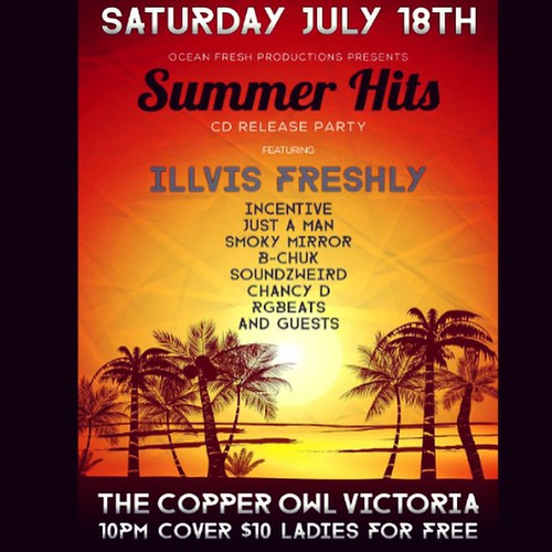 OFP - Summer Hits CD Release, Copper Owl, Victoria