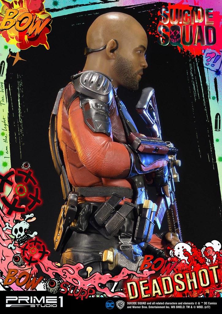 Prime 1 Studio 自殺突擊隊【死射佛洛伊德.勞頓】Suicide Squad Deadshot 1/3 比例全身雕像作品 MMSS-02