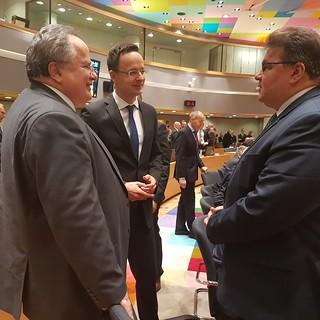 Συμμετοχή Υπουργού Εξωτερικών, Ν. Κοτζιά, στο Συμβούλιο Εξωτερικών Υποθέσεων της Ε.Ε. (Βρυξέλλες, 06.03.2017)