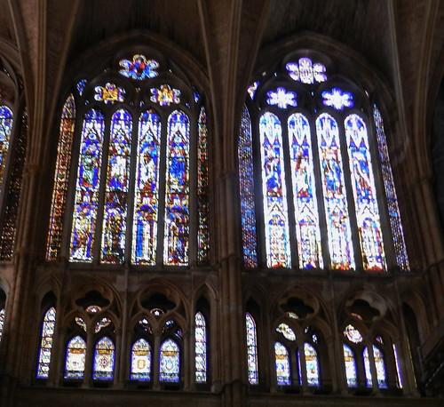 leon vidrieras catedral santa maria de regla león