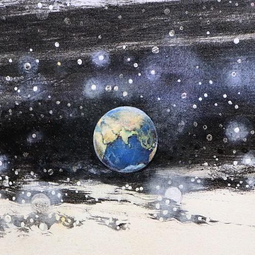 地球を見つけました。 #nsハルシャ展 #森美術館