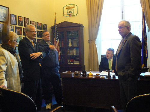 Meeting with the Long Island Delegation to discuss Sandy aid