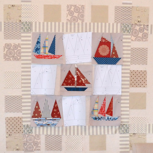 Old Sailboat Quilt