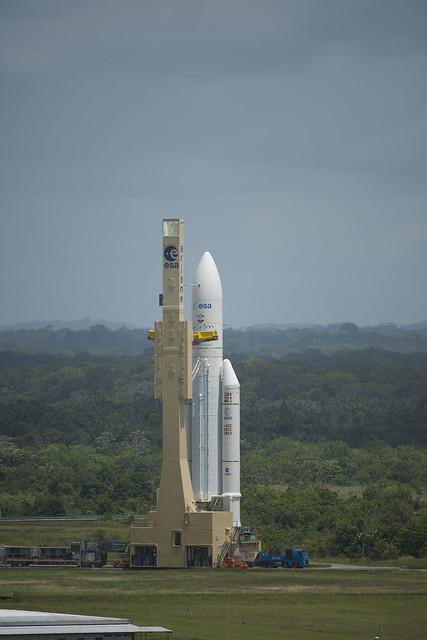 Transfer of Ariane 5 flight VA213