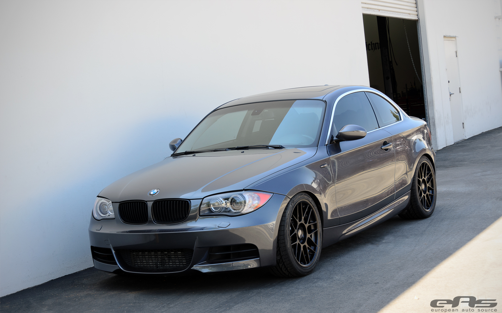 Matte Black Arc 8s On Space Gray 135i Bmw Performance
