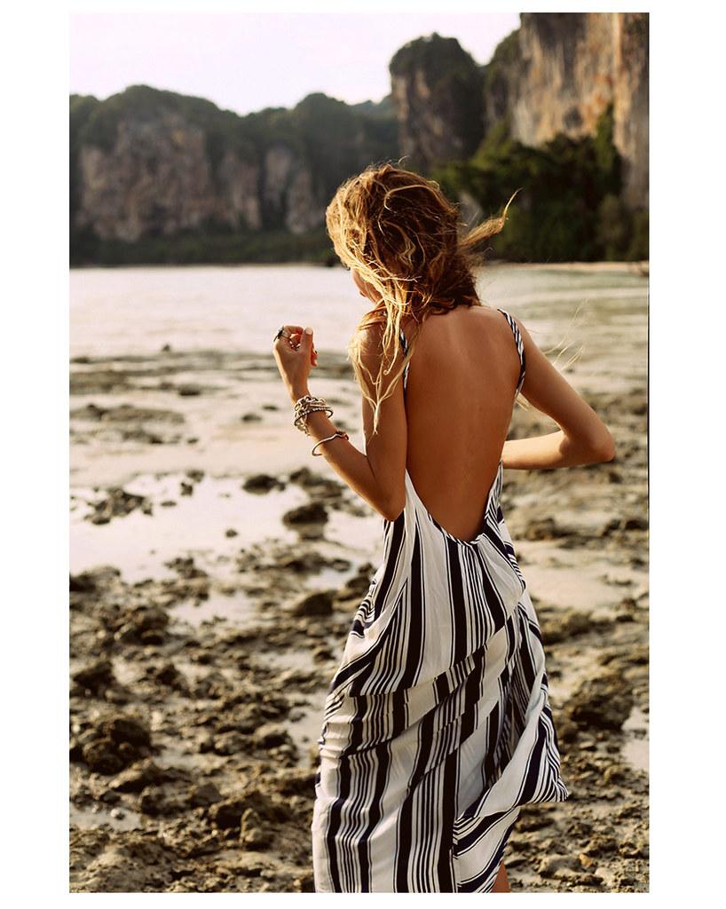 striped-dress-beach