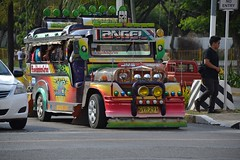 A colourful jeepney in Cebu City.