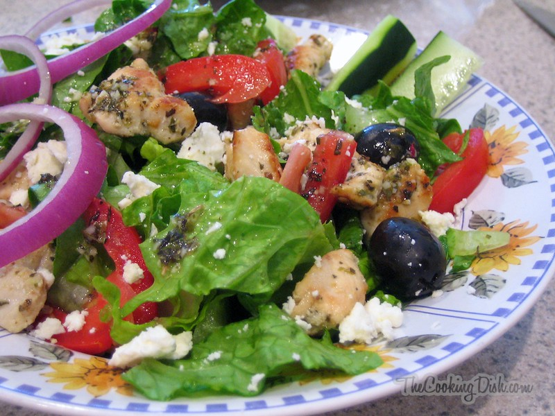 Salad with Spices