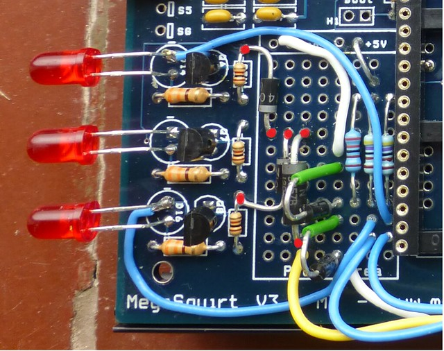 Megasquirt Support Forum  Msextra   U2022 Made A Mistake Assembling Tacho Output Circuit  View Topic