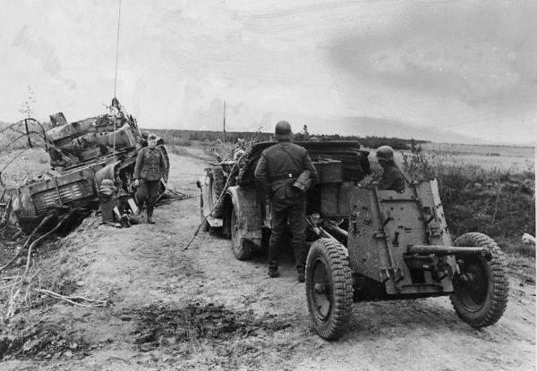 37-mm light antitank gun