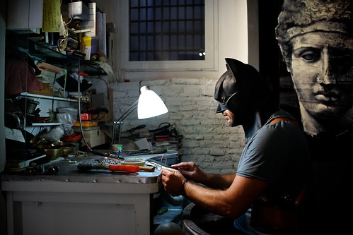 "161/365 - ""I'm Batman"" nr.11 by Luca Rossini"