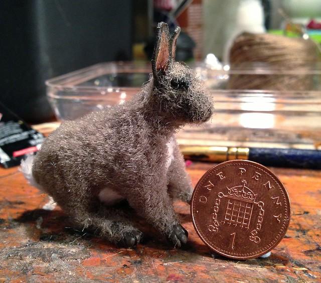 1/6 scale poseable Rabbit