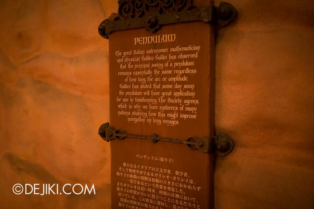 Tokyo DisneySea - Mediterranean Harbor / Fortress Explorations / Pendulum