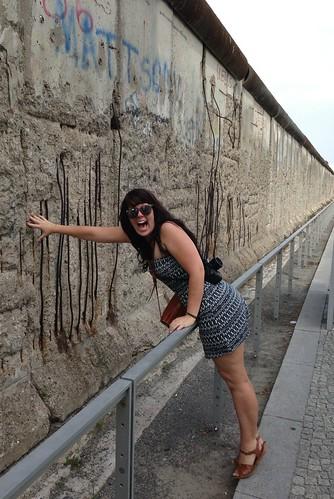 the Berlin Wall.