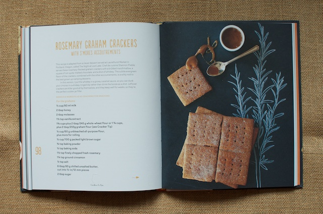 Crackers & Dips Rosemary Graham Crackers