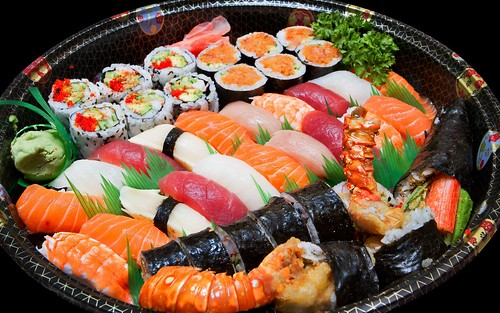 Sushi-Plate-Hd-Widescreen-Wallpapers