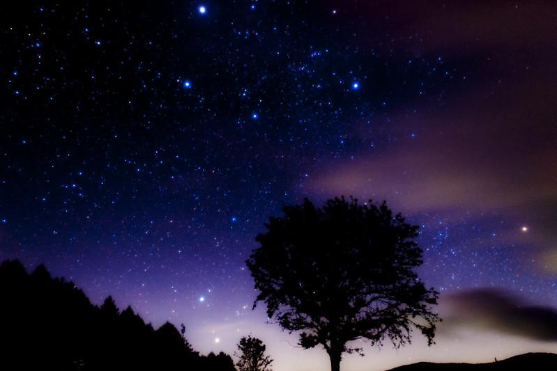 野辺山の星