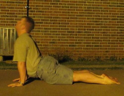 Summer yoga '13: urdhva mukha svanasana