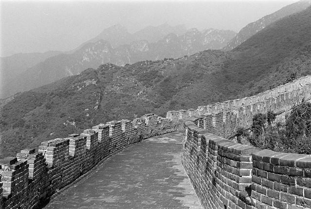 北京 黑白影像