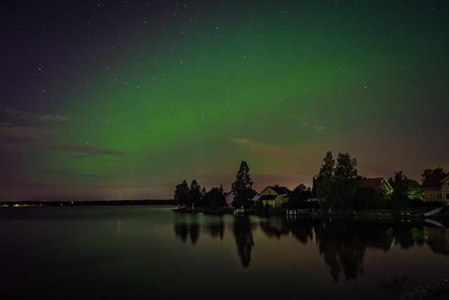 Aurora Borealis en Oulu