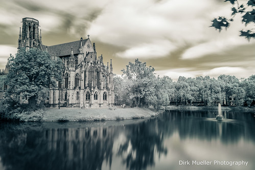 Johanneskirche am Feuersee by Dirk Mueller Photography