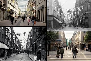 Gothenburg, Inom Vallgraven 1928 / 1935 / 2013