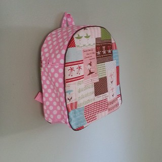 Toddler backpack,  ballerina