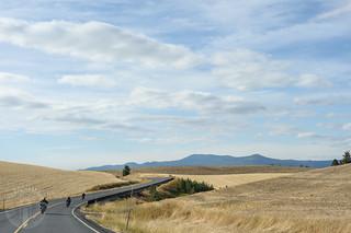 Mosow Mountain ahead