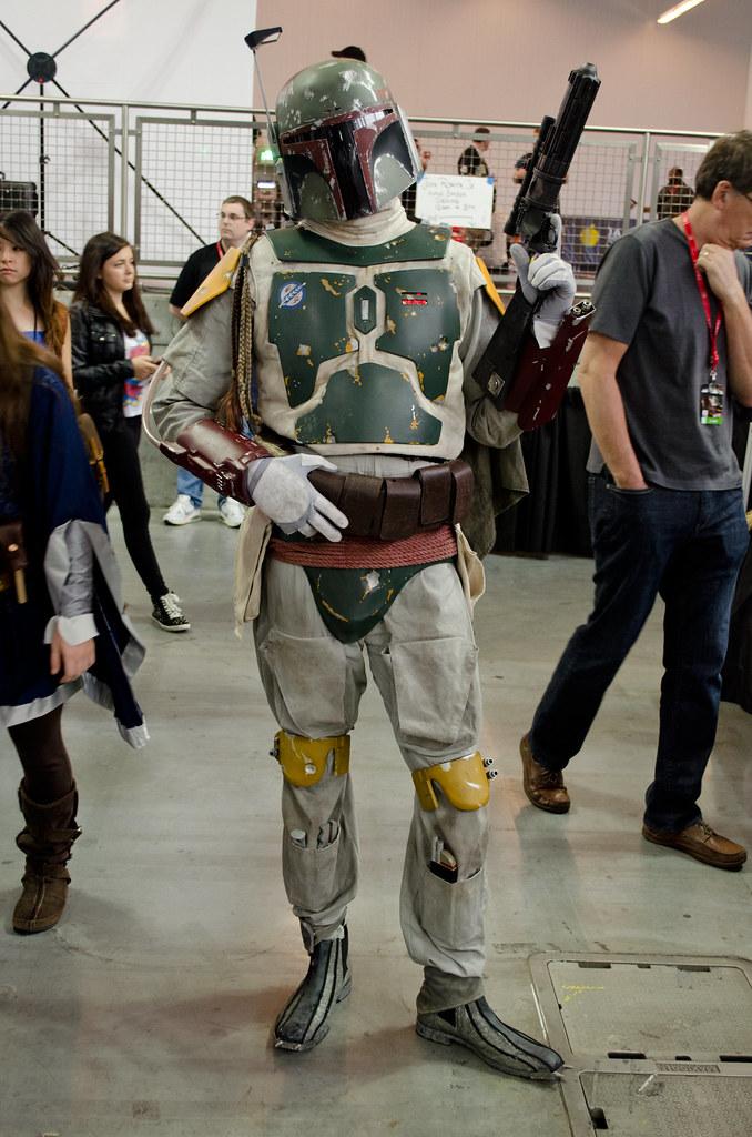 NYCC 2013 Boba Fett cosplay