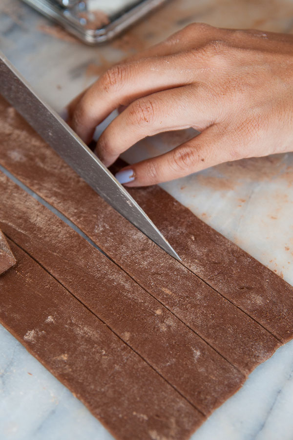 How to Make Cocoa Pappardelle // www.acozykitchen.com