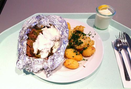 Kleftiko - Griechisches Lammfleisch mit Zitronenkartoffeln / Greek lamb with lemon potatoes