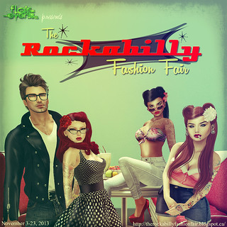 The Rockabilly Fashion Fair is finally OPEN!!!