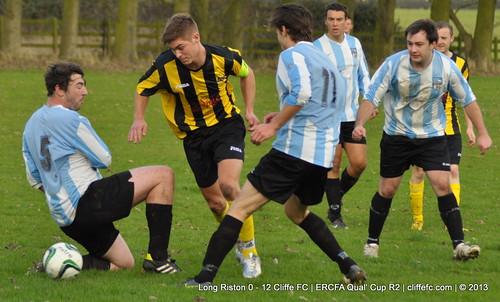 Cliffe FC 12 - 0 Long Riston 2Nov13