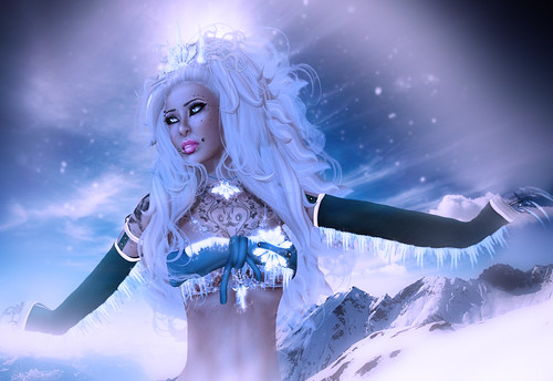 Winter Goddess Part I~Winter is on her way