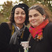 kirstin and deirdre at the apple orchard by sidemtess | linda