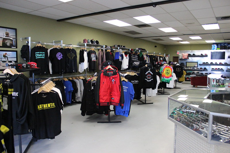 Authentic store - left side