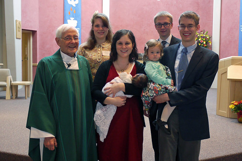 Maggie's Baptism Day