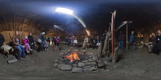 Plimoth Plantation - Wampanoag Hut
