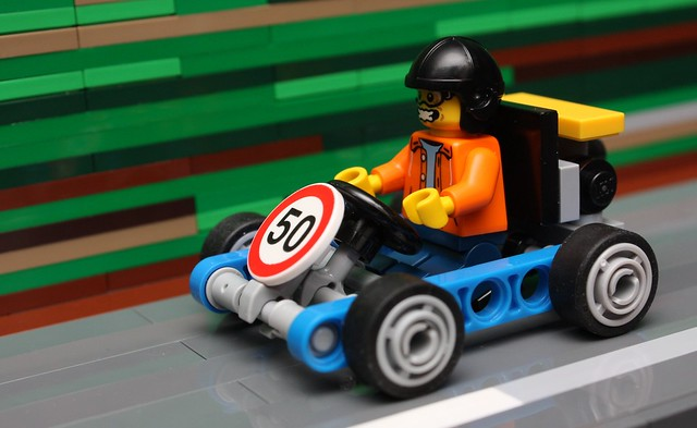Souped-up Gocart