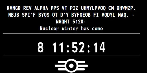 Confirmed: Fallout 4 Survivor 2299 site is fake