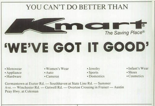 Day 344 - Kmart, king of slogans!